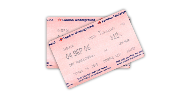 immagine per Londra Underground TIcket