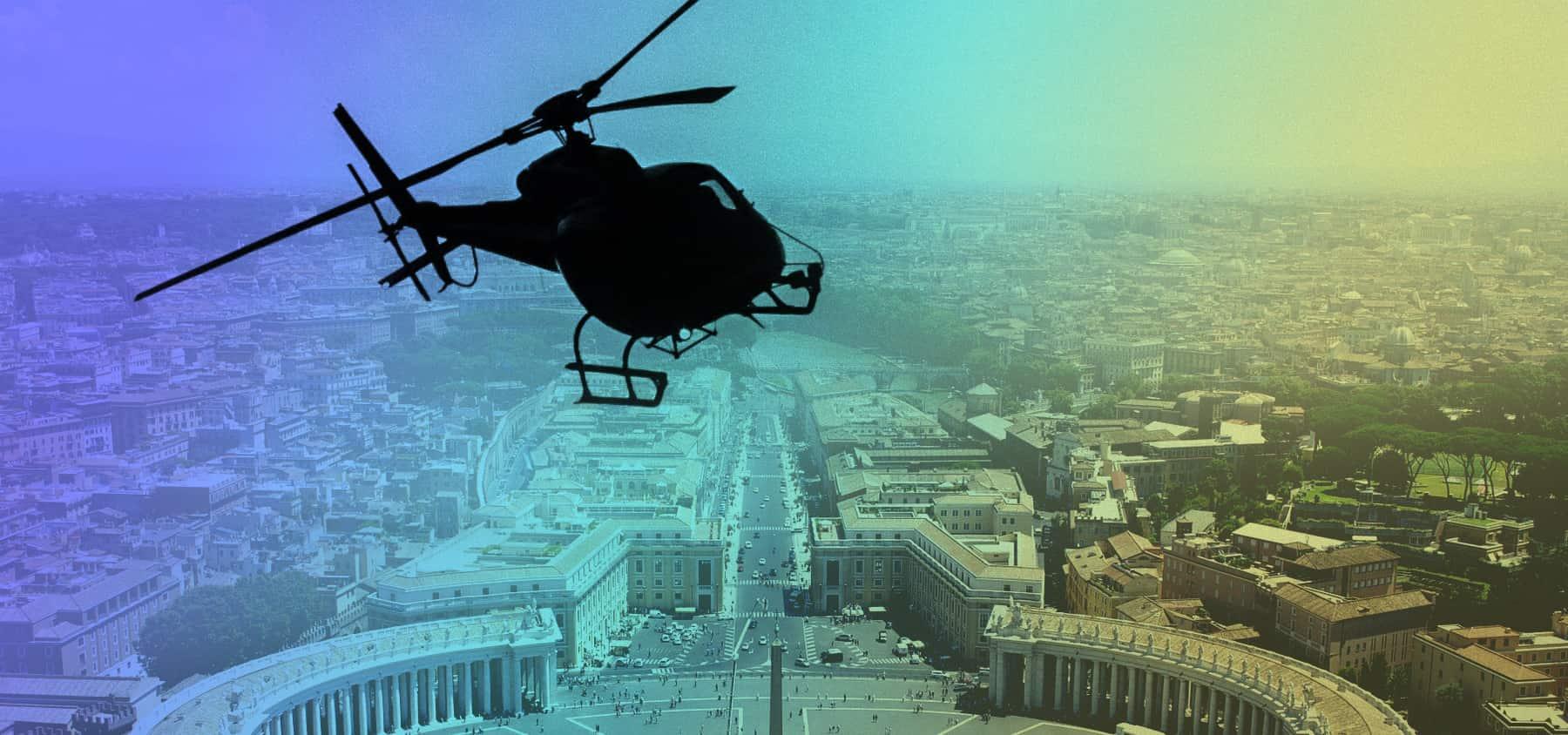 immagine per volare sopra roma